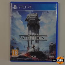 Playstation 4 game Star Wars Battlefront