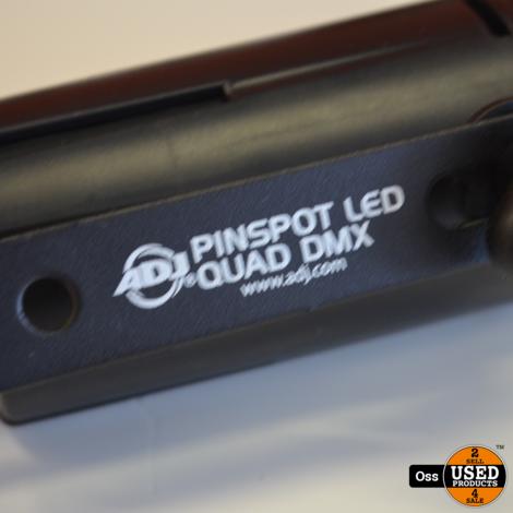 ADJ Pinspot LED Quad DMX incl. afstandsbediening