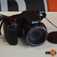 Nikon Coolpix L840 camera incl. doos, USB-kabel en handleiding