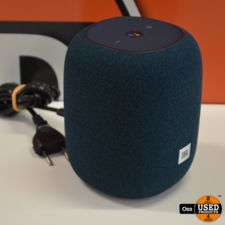 JBL Link Music Blauw Smart Speaker incl. stroomkabel