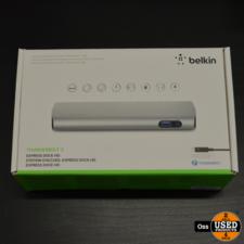 NIEUW IN DOOS: Belkin Thunderbolt 2 Express Dock HD dockingstation
