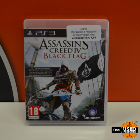 Playstation 3 game Assassin's Creed IV Black Flag