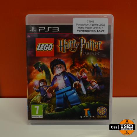 Playstation 3 game LEGO Harry Potter jaren 5-7 - Nederlandstalig