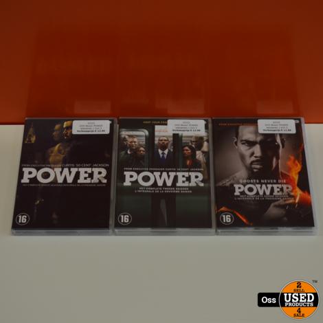 DVD Boxen POWER seizoenen 1 t/m 3 - Curtis Jackson 50 Cent