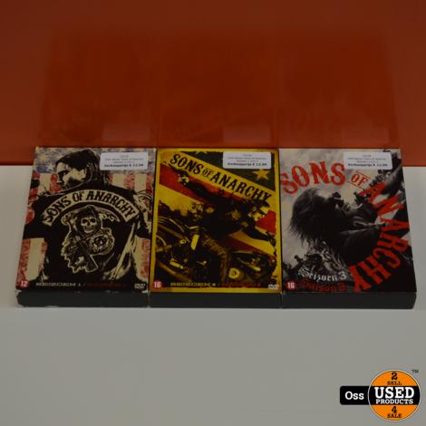 DVD Boxen Sons of Anarchy seizoen 1 t/m 3