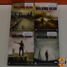 DVD Boxen The Walking Dead seizoen 1 t/m 4