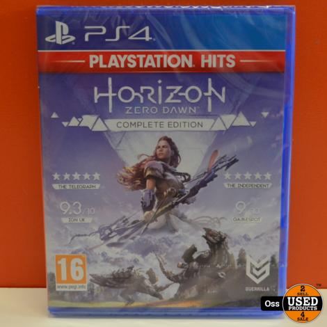 NIEUW IN SEAL: Playstation 4 game Horizon Zero Dawn Complete Edition