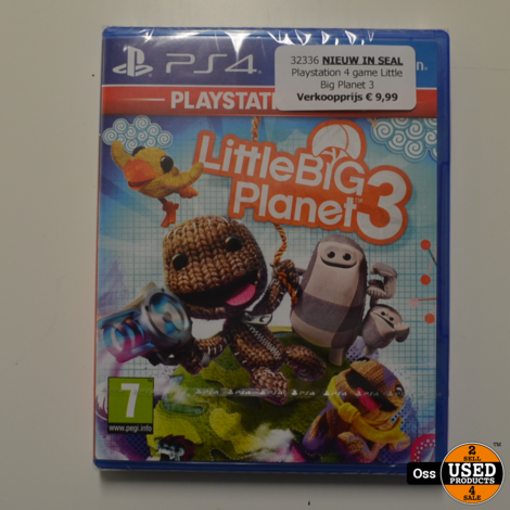 NIEUW IN SEAL: Playstation 4 game Little Big Planet 3