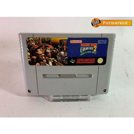 Nintendo Super Nes Game: Donkey Kong Country 2 (losse cassette)