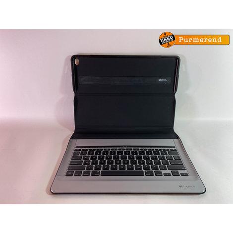 Logitech Create Backlight Keyboard Case Zwart/Grijs iPad 12.9 2016