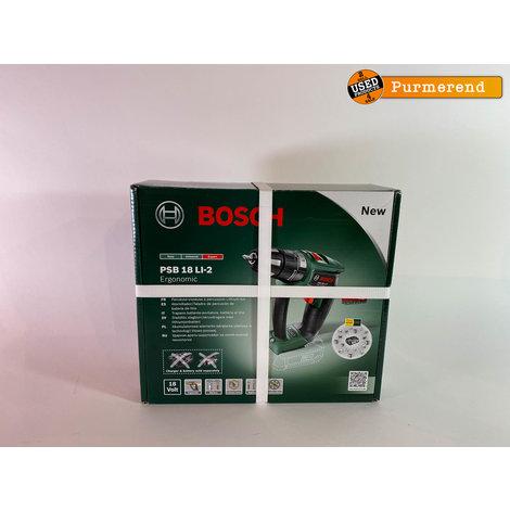 Bosch PSB 18 LI-2 Accu Klopboormachine | Nieuw in Doos