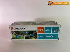 Gardena Gardena Grasschaar AccuCut incl Buxusmes   Nieuw in Doos