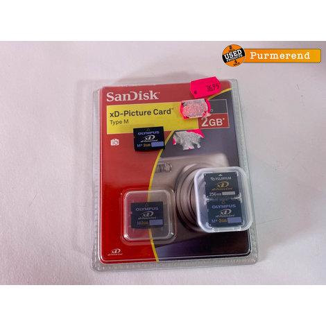 Olympus SP-570UZ Camera + 4 xD Card   Compleet in Doos