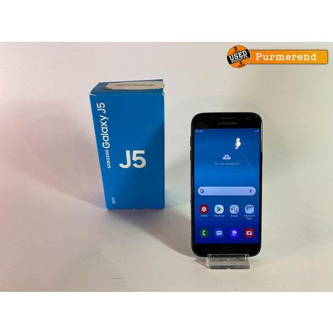 Samsung Galaxy J5 2017 16GB Zwart | Compleet in Doos