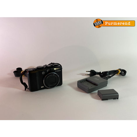 Canon Powershot G9 | incl. 2 Accus