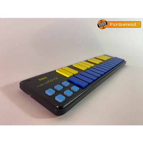 Korg Nanokey 2 Limited Blue | Zeer Nette Staat