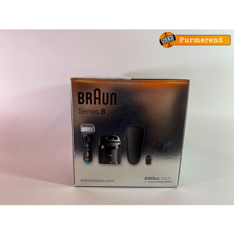 Braun Series 8 8365cc Scheerapparaat | Nieuw