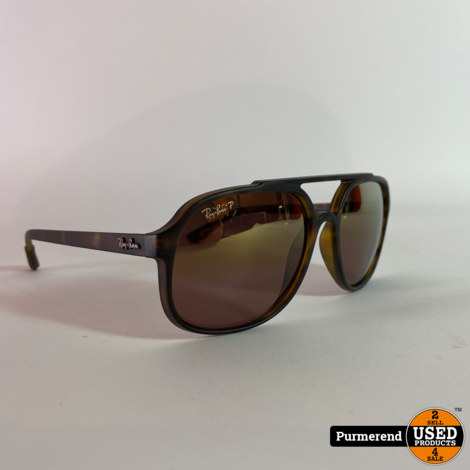 Ray-Ban RB4321CH Polarized Zonnebril 894/6B 57-18