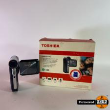 Toshiba Toshiba Camileo Pro Handcamera 5MP