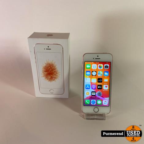 iPhone SE 128GB Rose Gold | Compleet in Doos