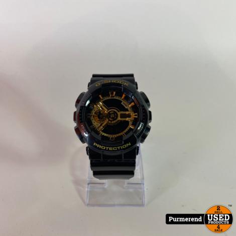 G-Shock GA-110GB Horloge Zwart/Goud