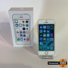 Apple iPhone 5s 16GB Wit | Compleet in Doos