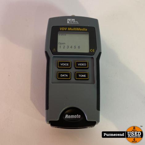 Ideal VDV Multimedia 33-856 Kabel Tester