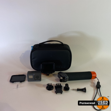 GoPro Hero 5 Black + Accessoires