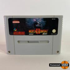 Super Nintendo Super Nintendo Game: Mortal Kombat 2 (losse cassette)