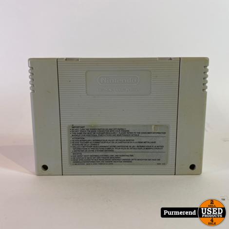 Super Nintendo Game: Mortal Kombat 2 (losse cassette)