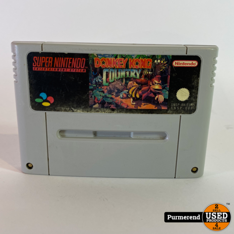 Super Nintendo Game: Donkey Kong Country (losse cassette)