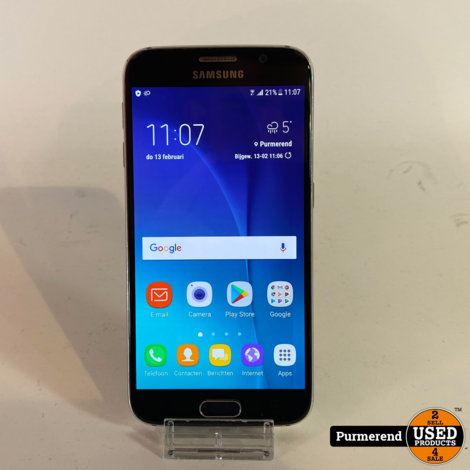 Samsung Galaxy S6 32GB Blauw | Gebruikt