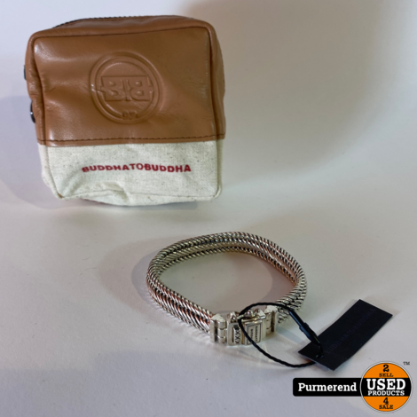 Buddha to Buddha Edwin Small J155 Armband Maat D 18CM Nieuw