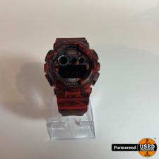 G-Shock G-Shock GD-120CM Leger Rood   Nette Staat