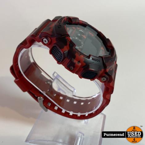 G-Shock GD-120CM Leger Rood | Nette Staat