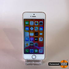 Apple iPhone SE 128GB Rose Gold   Gebruikt