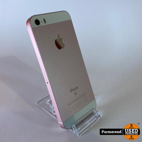 iPhone SE 128GB Rose Gold   Gebruikt