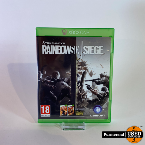 XBOX One Game: Rainbow Six Siege