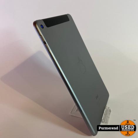 iPad Mini 4 64GB WiFi/4G Space Gray   Nette Staat