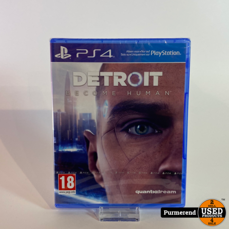 PS4 Game: Detroit Become Human   Nieuw in Seal