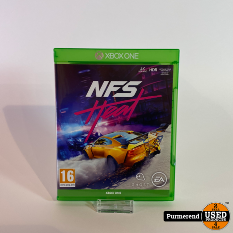 XBOX One Game: Need for Speed Heat