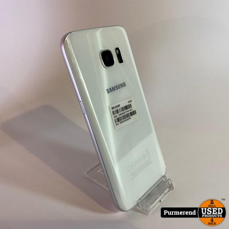 Samsung Galaxy S7 32GB White Pearl | Zeer Nette Staat