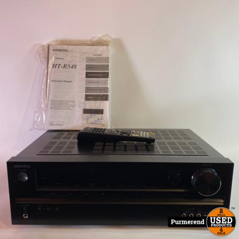 Onkyo HT-R548 Home Cinema Versterker 5.1 300W