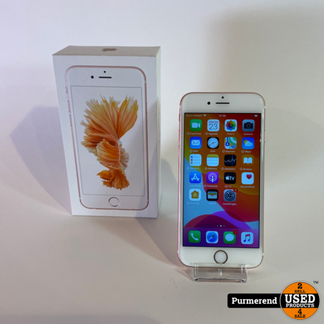 iPhone 6S 64GB Rose Gold   Nette Staat