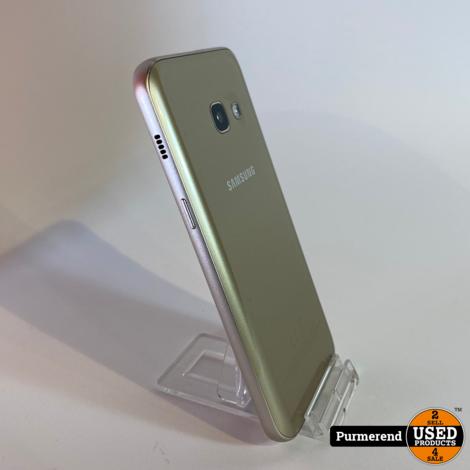 Samsung A3 2017 16GB Goud   Compleet in Doos