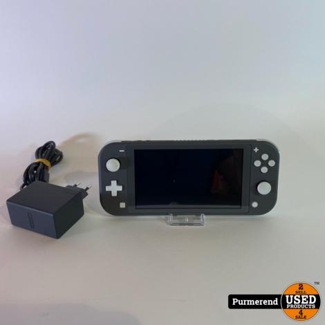 Nintendo Switch Lite Grijs | Zeer Nette Staat