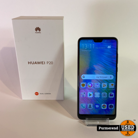 Huawei P20 128GB Zwart | Nette Staat