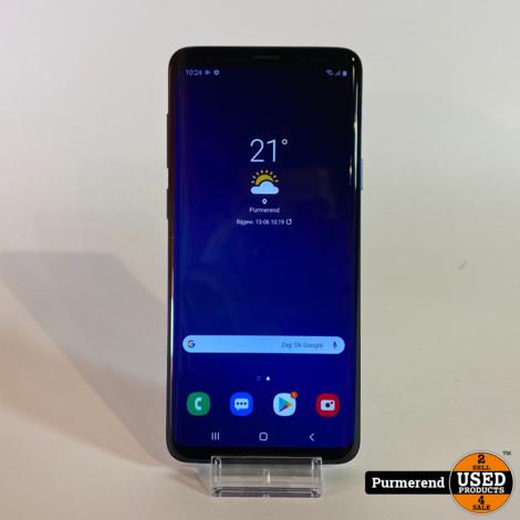 Samsung Galaxy S9+ 64GB Blauw | Zeer Nette Staat