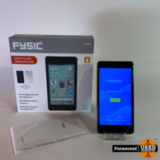 Fysic FYSIC F101 Zwart/Wit Senioren GSM | Nieuwstaat