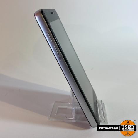 FYSIC F101 Zwart/Wit Senioren GSM | Nieuwstaat
